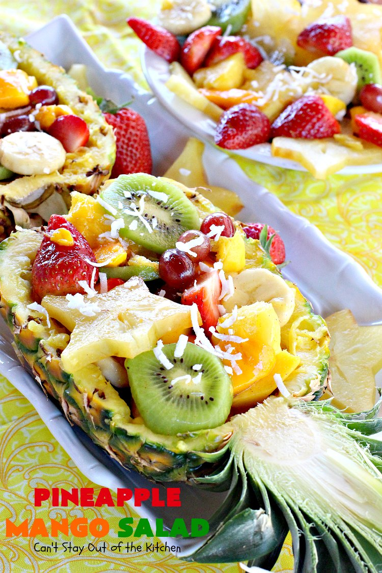 Pineapple Mango Salad
