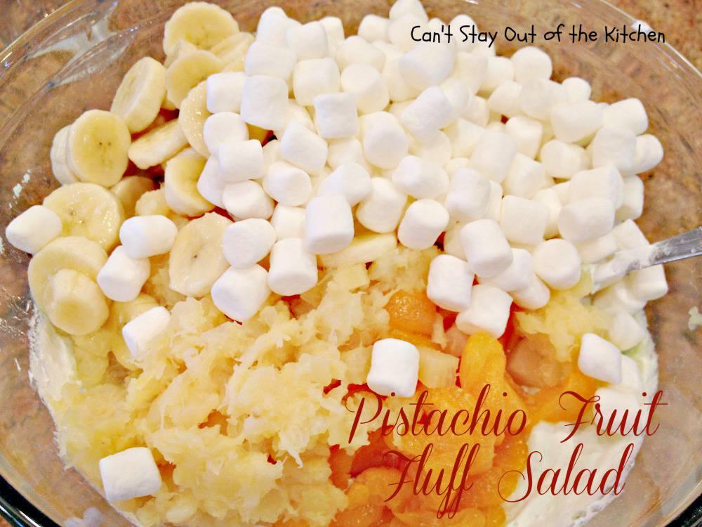 how to make pistachio fluff salad