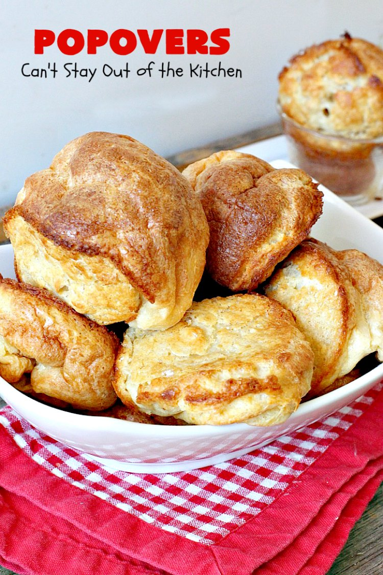 Popovers - Can't Stay Out of the Kitchen