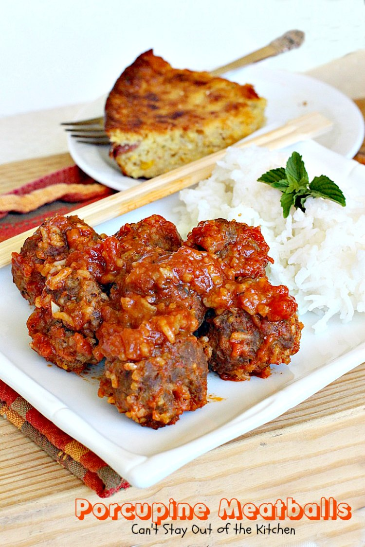 meatballs made with rice