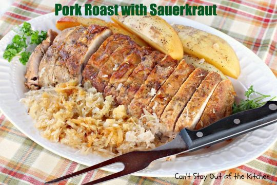 Pork Roast with Sauerkraut - IMG_0358
