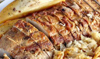 Pork Roast with Sauerkraut