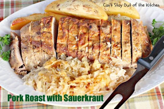 Pork Roast with Sauerkraut - IMG_0367