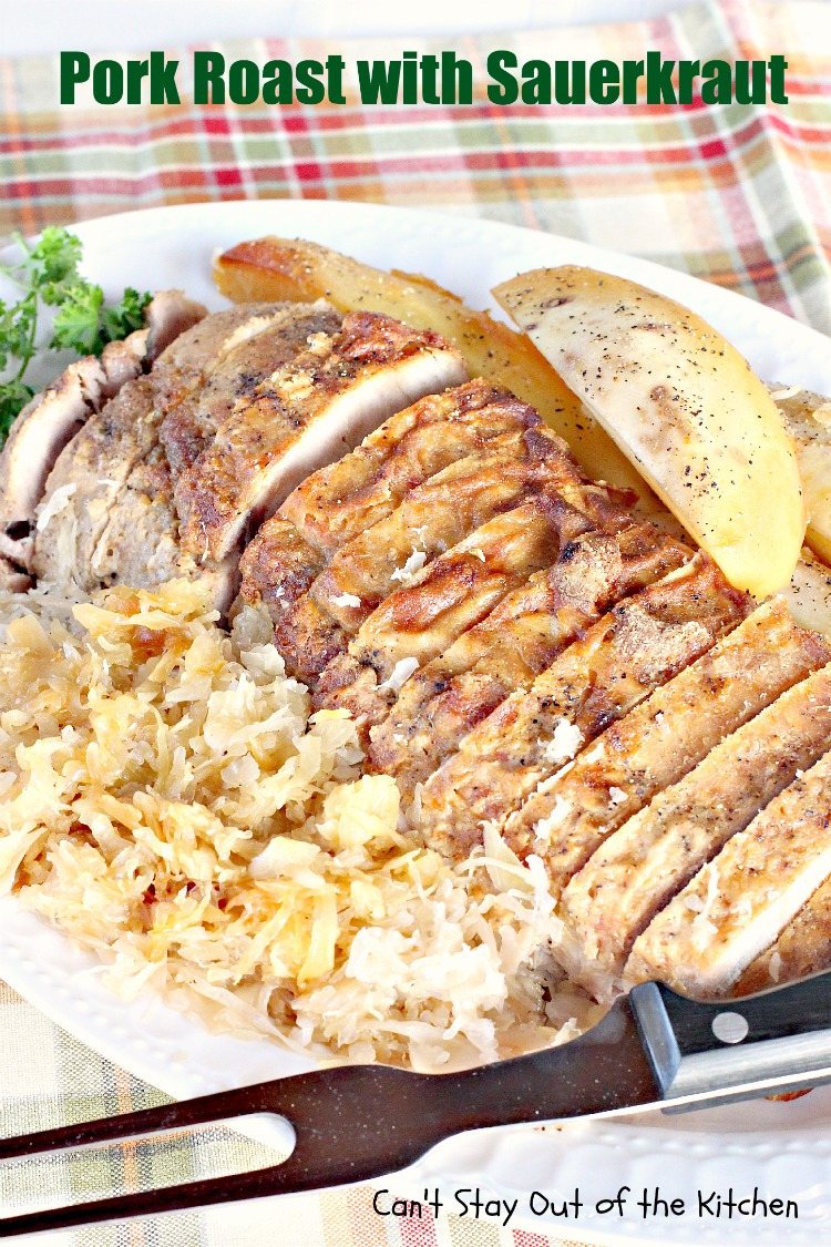 pork chops with oktoberfest pork roast german style roast pork pork ...