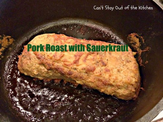 Pork Roast with Sauerkraut - IMG_4290