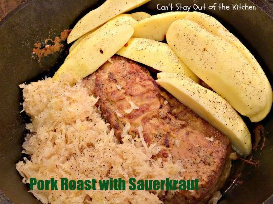 Pork Roast with Sauerkraut - IMG_4292