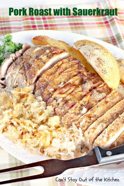 Pork Roast withSauerkraut - IMG_0374