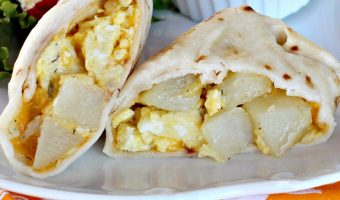 Potato Breakfast Burritos