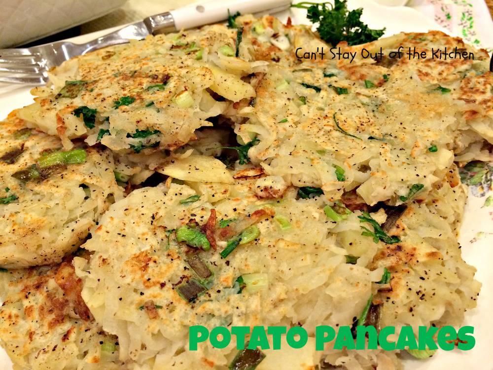 Potato Pancakes With Applesauce Potato Pancakes Img 1543