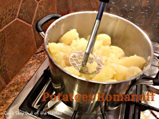 Potatoes Romanoff - IMG_0673