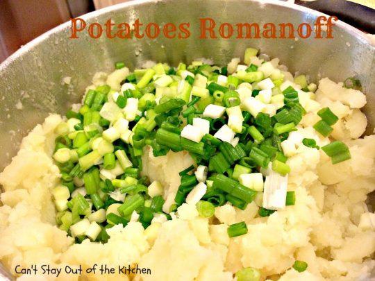 Potatoes Romanoff - IMG_0675