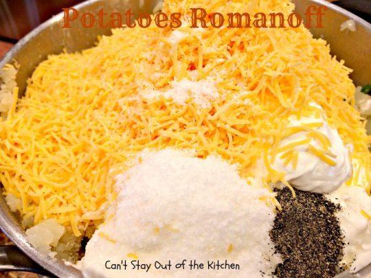 Potatoes - Romanoff - IMG_0677