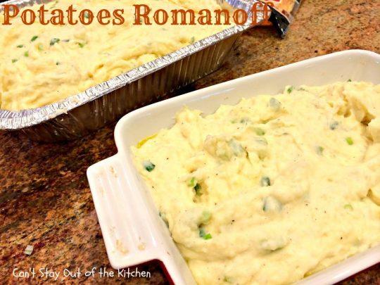 Potatoes Romanoff - IMG_0678