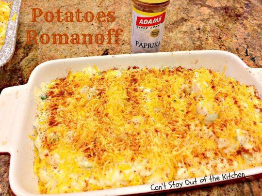 Potatoes Romanoff - IMG_0679