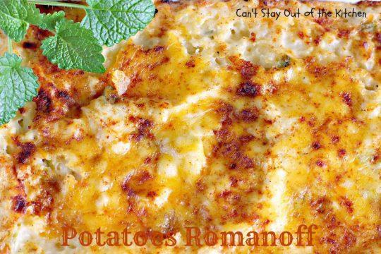 Potatoes Romanoff - IMG_7373