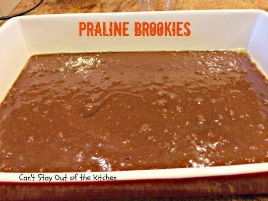 Praline Brookies - IMG_3925