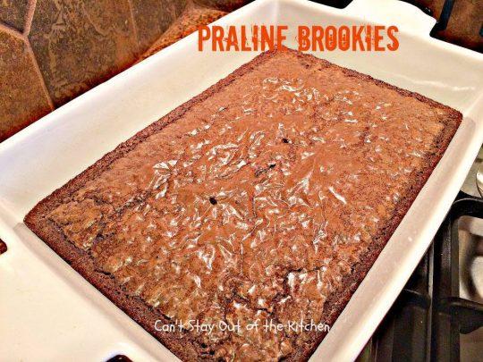Praline Brookies - IMG_3933