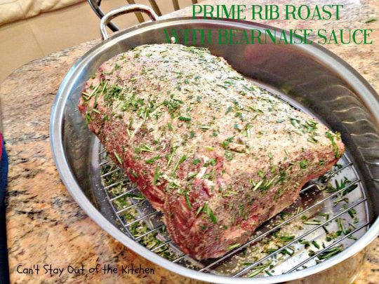 Prime Rib Roast with Bearnaise Sauce - Holiday Dinners 462.jpg