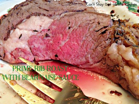 Prime Rib Roast with Bearnaise Sauce - Holiday Dinners 640.jpg