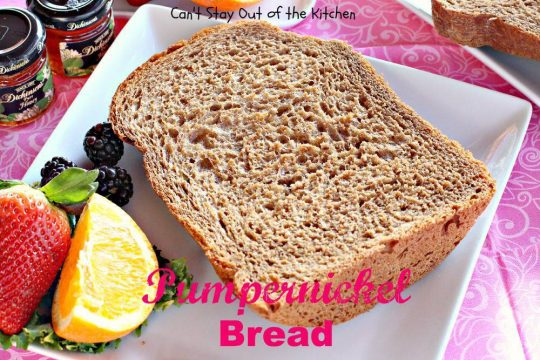 Pumpernickel Bread - IMG_3185.jpg