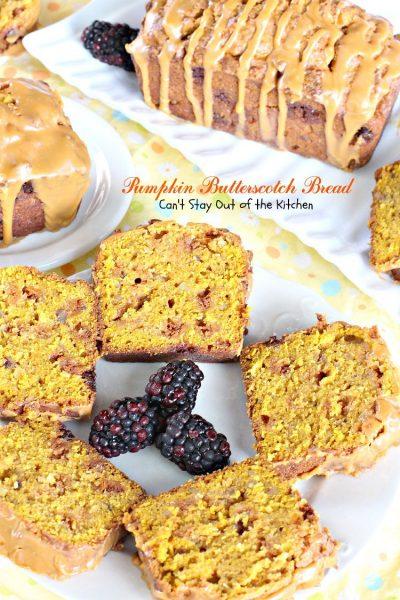 Pumpkin Butterscotch Bread - IMG_4775
