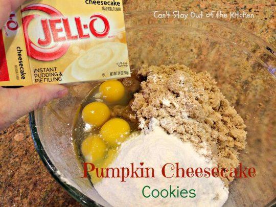 Pumpkin Cheesecake Cookies - IMG_2861