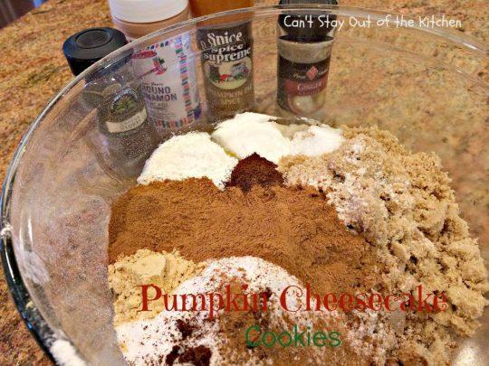 Pumpkin Cheesecake Cookies - IMG_2862