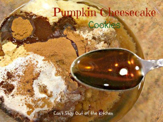 Pumpkin Cheesecake Cookies - IMG_2863