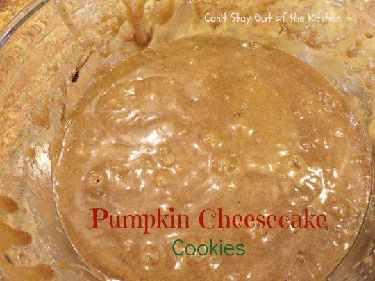 Pumpkin Cheesecake Cookies - IMG_2864