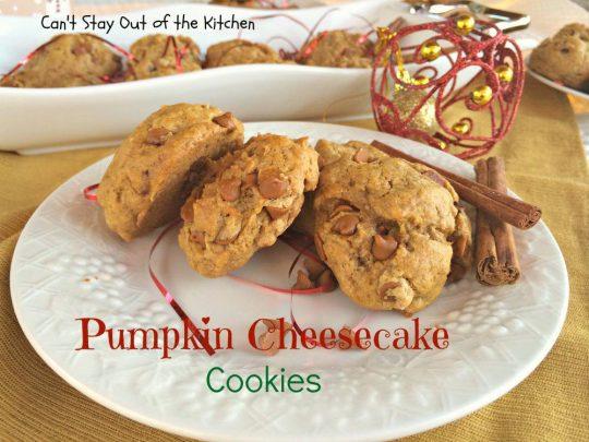Pumpkin Cheesecake Cookies - IMG_2882