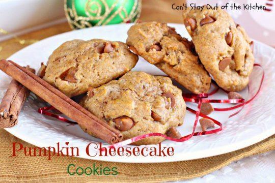 Pumpkin Cheesecake Cookies - IMG_9312