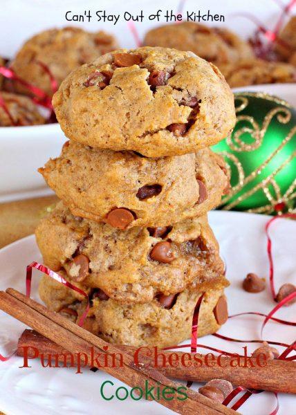 Pumpkin Cheesecake Cookies - IMG_9315