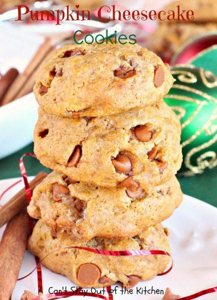 Pumpkin Cheesecake Cookies - IMG_9356