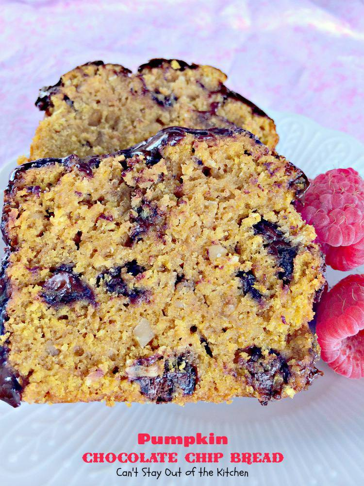Pumpkin Chocolate Chip Bread Can T Stay Out Of The Kitchen