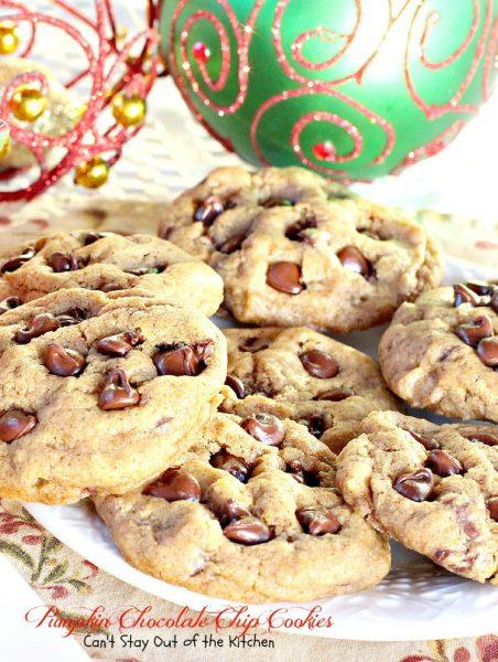 Pumpkin Chocolate Chip Cookies - IMG_8940