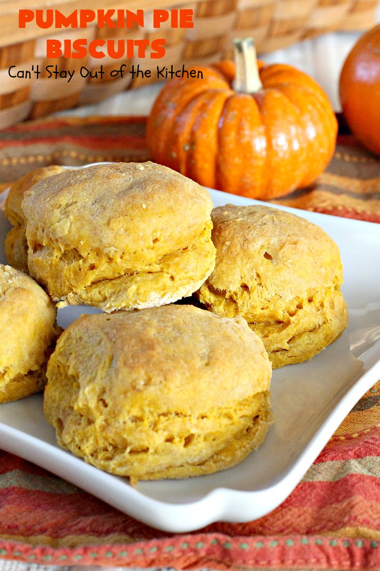 Pumpkin Pie Biscuits