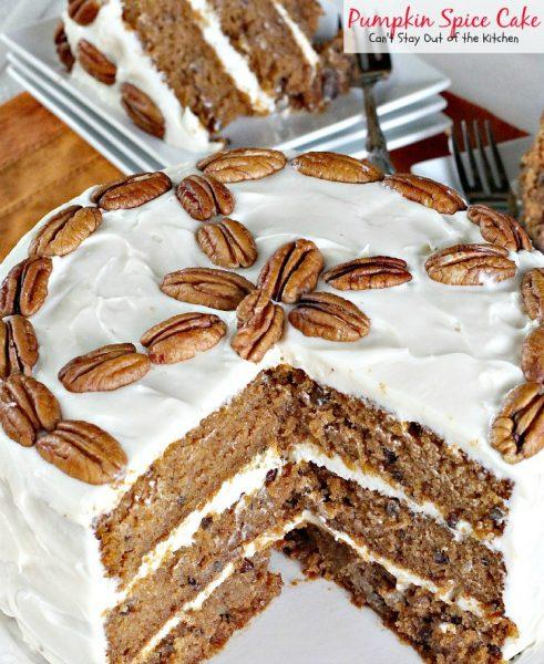 Pumpkin Spice Cake - IMG_3024