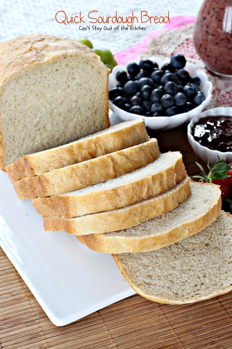 bread machine sourdough