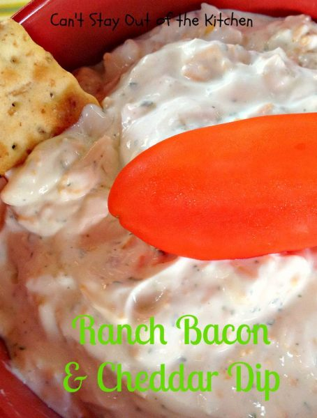 Ranch Bacon and Cheddar Dip - IMG_3260
