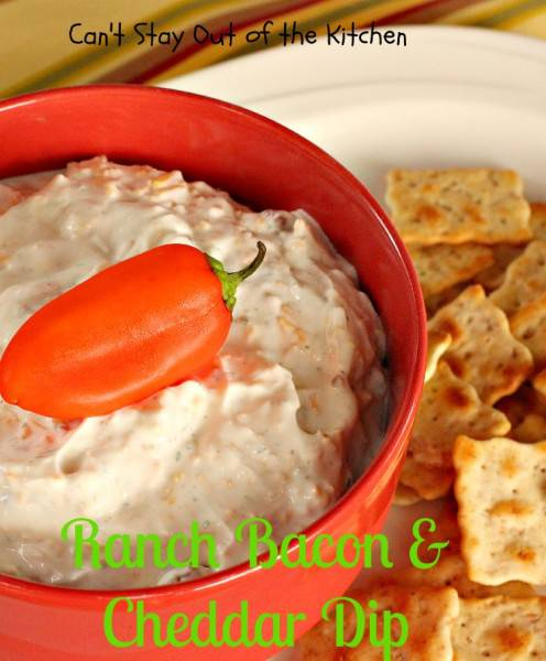 Ranch Bacon and Cheddar Dip - IMG_8430