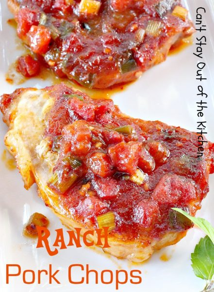 Ranch Pork Chops | Can't Stay Out of the Kitchen
