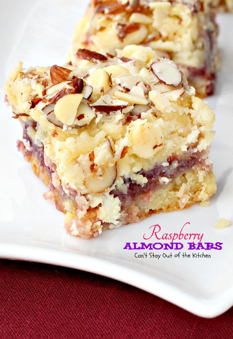 Raspberry Almond Bars Can T Stay Out Of The Kitchen
