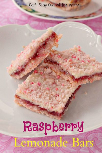 Raspberry Lemonade Bars - IMG_1287