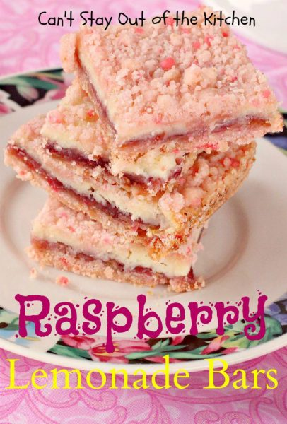 Raspberry Lemonade Bars - IMG_1333