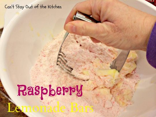 Raspberry Lemonade Bars - IMG_5579