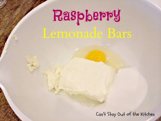 Raspberry Lemonade Bars - IMG_5583