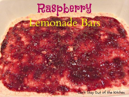 Raspberry Lemonade Bars - IMG_5585