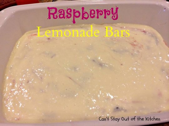 Raspberry Lemonade Bars - IMG_5586