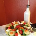 Healthy Cranberry Raspberry Salad Dressing