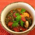 Vegan Tuscan Kale and White Bean Soup